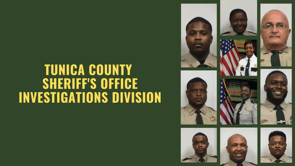 Tunica County Sheriff's Office Investigations Division